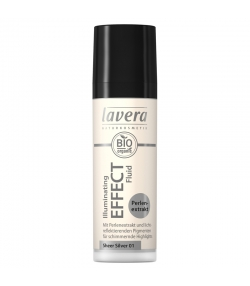 Teintaufhellendes BIO-Fluid N°01 Sheer Silver - 30ml - Lavera