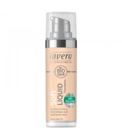 Fond de teint liquide BIO N°01 Ivory Light - 30ml - Lavera