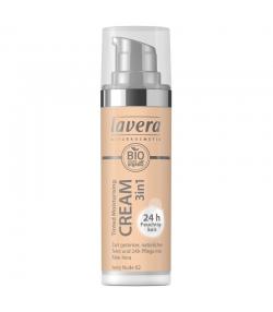 Crème hydratante teintée 3 en 1 BIO N°01 Ivory Nude - 30ml - Lavera