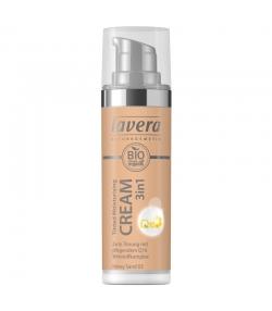 3-in-1 Getönte BIO-Feuchtigkeitscreme Q10 N°03 Honey Sand - 30ml - Lavera