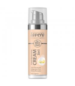 3-in-1 Getönte BIO-Feuchtigkeitscreme Q10 N°01 Ivory Light - 30ml - Lavera