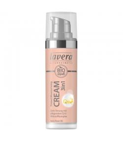 3-in-1 Getönte BIO-Feuchtigkeitscreme Q10 N°00 Ivory Rose - 30ml - Lavera