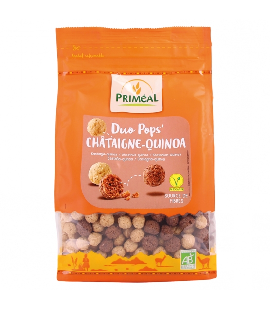 Duo pops' châtaigne-quinoa BIO - 200g - Priméal