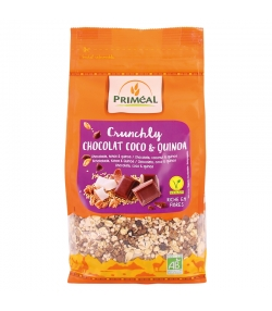 BIO-Crunchly Schokolade Kokos & Quinoa - 365g - Priméal