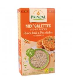 Mix burger quinoa & légumes BIO - 2x125g - Priméal