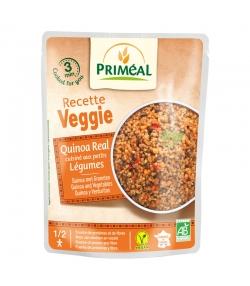 Quinoa cuisiné aux petits légumes BIO - 220g - Priméal Le petit veggie