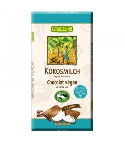 Chocolat végan au lait de coco BIO - 80g - Rapunzel