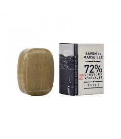 Petit galet de savon de Marseille vert à l'huile d'olive - 50g - La Corvette
