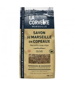 Copeaux de savon de Marseille vert à l'huile d'olive - 750g - La Corvette