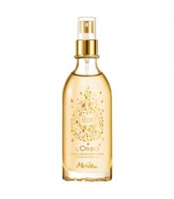 Huile extraordinaire visage, corps & cheveux BIO 5 huiles précieuses - 100ml - Melvita L'Or Bio