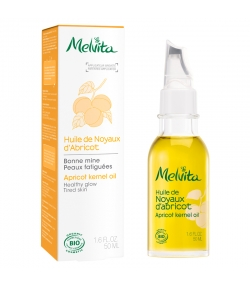 Huile de noyaux d'abricot BIO - 50ml - Melvita