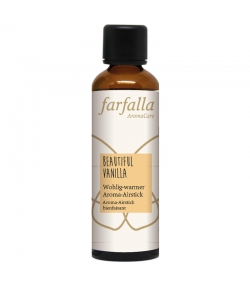 Nachfüllflasche Aroma-Airstick Beautiful Vanilla - 75ml - Farfalla
