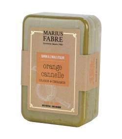 Savonnette à l'huile d'olive, aux écorces d'orange & à la cannelle - 150g - Marius Fabre Bien-être