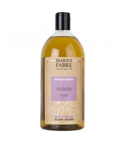 Savon liquide de Marseille à la violette - 1l - Marius Fabre Bien-être