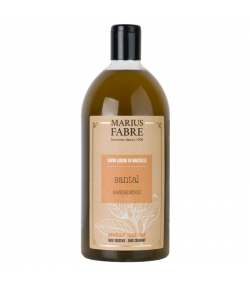 Flüssige Marseiller Seife mit Sandelholz - 1l - Marius Fabre Bien-être