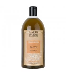 Savon liquide de Marseille au santal - 1l - Marius Fabre Bien-être