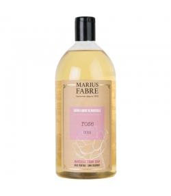 Flüssige Marseiller Seife mit Rosen - 1l - Marius Fabre Bien-être
