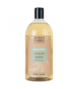 Savon liquide de Marseille à l'amande amère - 1l - Marius Fabre Bien-être