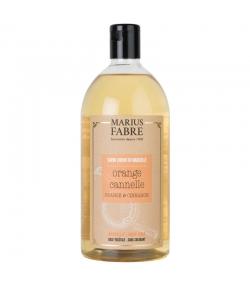Flüssige Marseiller Seife mit Orangenschalen und Zimt - 1l - Marius Fabre Bien-être