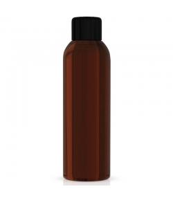 Flacon en plastique brun 100ml avec réducteur et bouchon à vis noir - 1 pièce - Centifolia