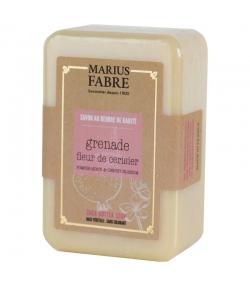 Savonnette au beurre de karité & à la fleur de cerisier & à la grenade - 150g - Marius Fabre Bien-être