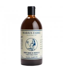 Savon liquide de Marseille sans parfum - 1l - Marius Fabre Nature