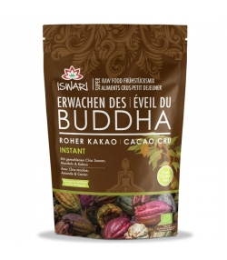 Petit-déjeuner cru cacao cru BIO - 360g - Iswari Éveil du Bouddha