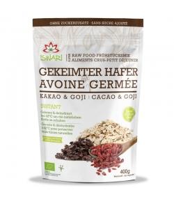 Porridge avoine germée, cacao & goji BIO - 400g - Iswari