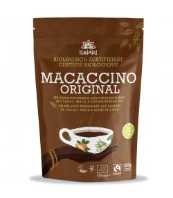 Boisson instantanée Macaccino Original cacao, maca & sucre de coco BIO - 250g - Iswari
