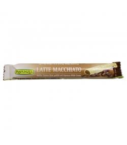 Latte Macchiato weisser BIO-Schoko-Stick gefüllt mit Espresso-Milch-Creme - 22g - Rapunzel