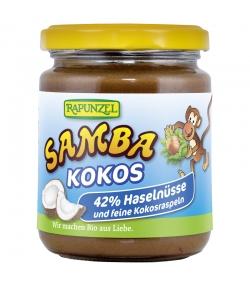 Pâte à tartiner chocolatée aux noisettes & noix de coco Samba Coco BIO - 250g - Rapunzel