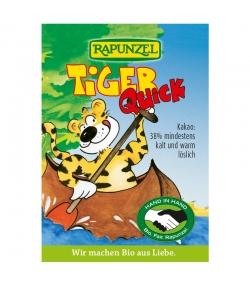 Boisson chocolatée instantanée Tiger Quick BIO - 15g - Rapunzel