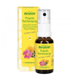 Spray buccal à la propolis naturel - 20ml - Bergland