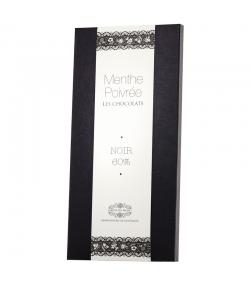 Chocolat à la menthe poivrée BIO – 90g – Jardin des Monts