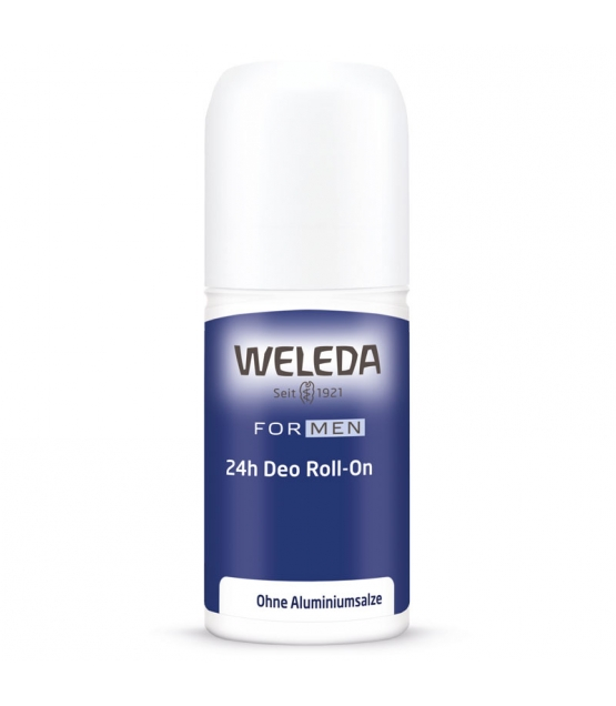 Déodorant à bille 24h homme BIO vétiver & litsea cubeba - 50ml - Weleda