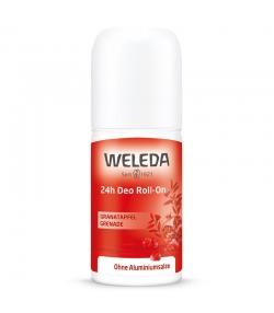 Déodorant à bille 24h BIO grenade - 50ml - Weleda