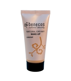 Fond de teint crème BIO Caramel – 30ml – Benecos