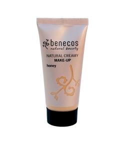 Fond de teint crème BIO Miel – Honey – 30ml – Benecos