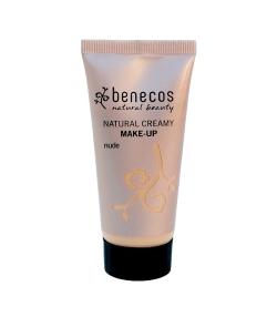 Fond de teint crème BIO Beige – Nude – 30ml – Benecos