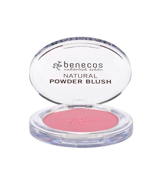 Fard à joues compact BIO Rose - Mallow rose - 5,5g - Benecos