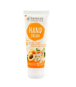 Crème mains BIOabricot & fleur de sureau - 75ml - Benecos