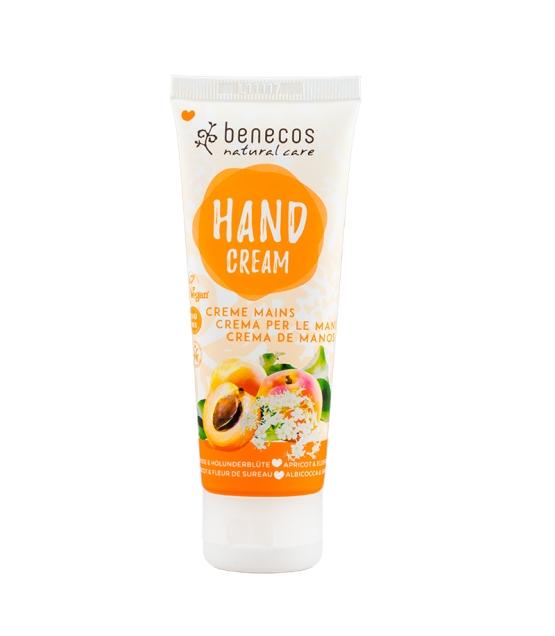 Crème mains BIO abricot & fleur de sureau - 75ml - Benecos