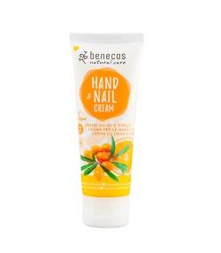 Crème mains & ongles BIO argousier & orange - 75ml - Benecos