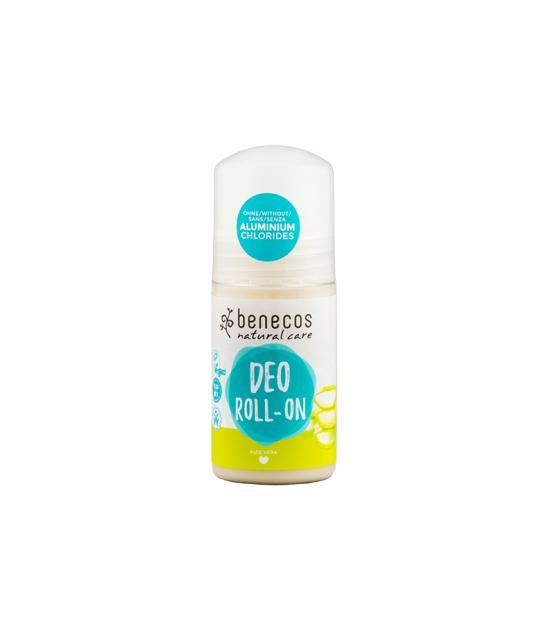 Déodorant à bille BIO aloe vera - 50ml - Benecos