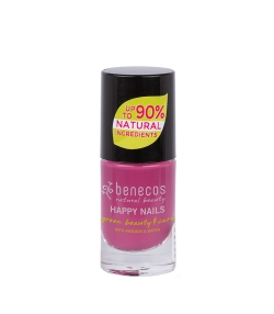 Vernis à ongles brillant Rose – My secret – 5ml – Benecos