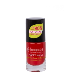 Vernis à ongles brillant Vieux rouge – Vintage red – 5ml – Benecos