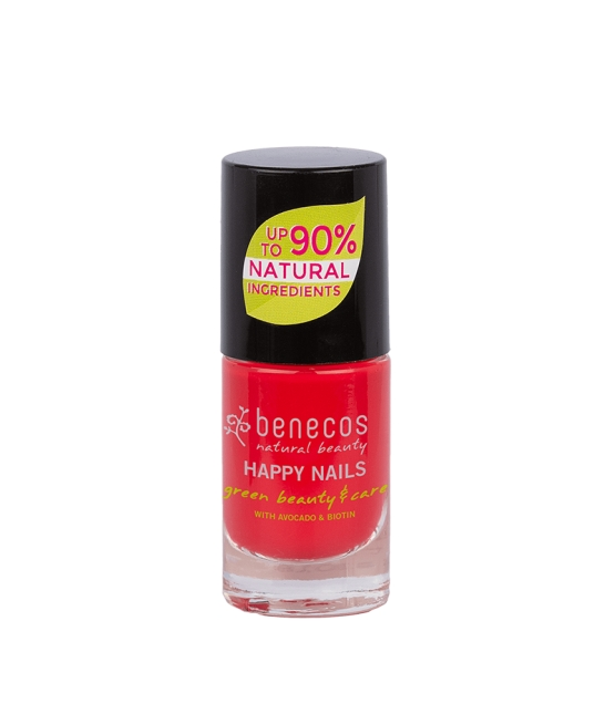 Vernis à ongles brillant Hot summer - 5ml - Benecos