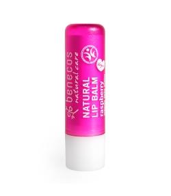 Baume à lèvres BIO framboise - 4,8g - Benecos