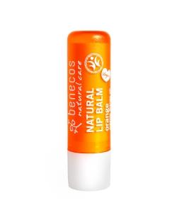 Baume à lèvres BIO orange - 4,8g - Benecos
