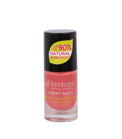 Vernis à ongles brillant Flamingo - 9ml - Benecos